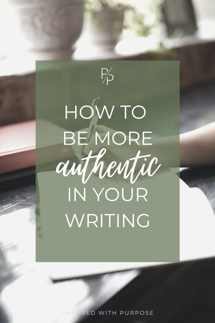How to be more authentic_blog graphic for Pinterest
