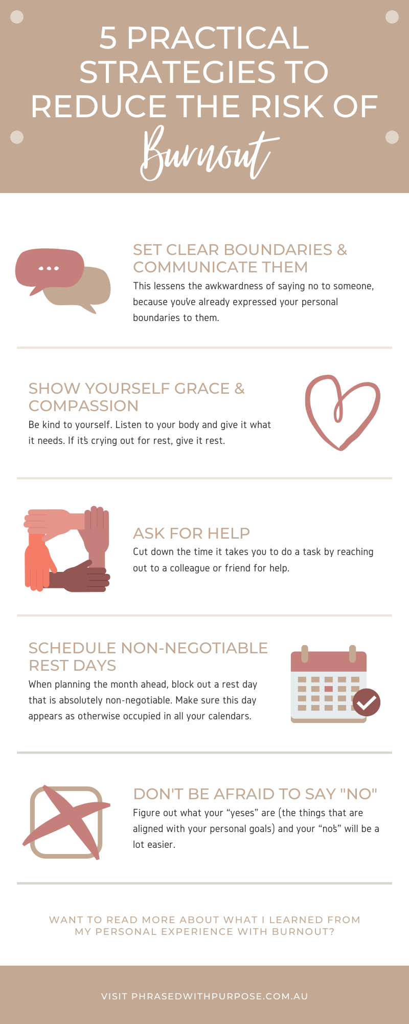 How to avoid burnout_Infographic for social sharing
